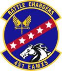STICKER USAF 451st Expeditionary Aircraft Maintenance Squadron Emblem