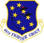 STICKER USAF 44th Fighter Group Emblem