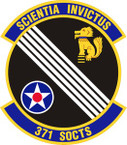 STICKER USAF 371st Special Operations Combat Training Squadron Emblem