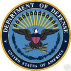 STICKER USAF  61st Force Support Squadron Emblem