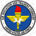 STICKER US Air Education and Training Command (AETC) Seal