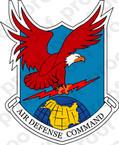 STICKER U.S. Air Defense Command Obsolete Emblem