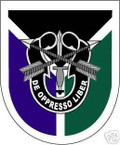STICKER U S ARMY FLASH SPECIAL OPERATIONS COMMAND