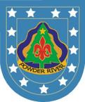 STICKER U S ARMY FLASH 91st Division