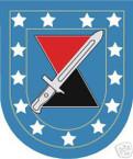 STICKER U S ARMY FLASH   7TH INFANTRY DIVISION