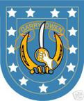 STICKER U S ARMY FLASH   7TH CAVALRY