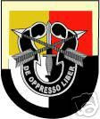 STICKER U S ARMY FLASH   3RD SPECIAL FORCES GROUP