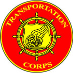 STICKER U S ARMY BRANCH Transportation Corps B
