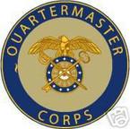 STICKER U S ARMY BRANCH QUARTERMASTER CORPS