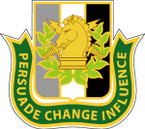 STICKER U S ARMY BRANCH Psychological Operations 4