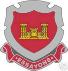 STICKER U S ARMY BRANCH Corps of Engineers