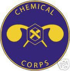 STICKER U S ARMY BRANCH Chemical Corps UNIT