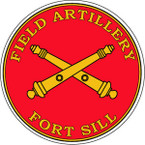 STICKER U S ARMY BRANCH ARTILLERY FORT SILL