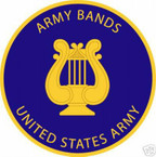 STICKER U S ARMY BRANCH ARMY BANDS UNIT