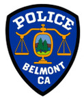 STICKER ST BELMONT POLICE DEPARTMENT