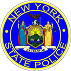 STICKER New York State Police Department