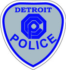 STICKER Detroit OCP Police Shield