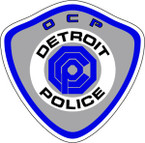 STICKER Detroit OCP Police Department