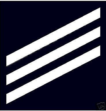 Sticker Rank U S Navy E3 Seaman Vinyl M C Graphic Decals