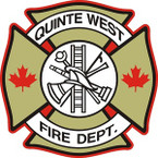 STICKER QUINTE WEST FIRE DEPARTMENT