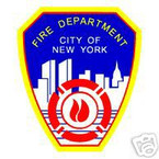 STICKER New York City Fire Department