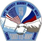 STICKER NASA SPACE SHUTTLE MISSION STS-79