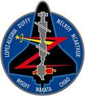 STICKER NASA SPACE SHUTTLE MISSION STS-92