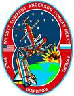 STICKER NASA SPACE SHUTTLE MISSION STS-89