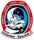STICKER NASA SPACE SHUTTLE MISSION STS-9