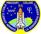 STICKER NASA SPACE SHUTTLE MISSION STS-84