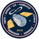 STICKER NASA SPACE SHUTTLE MISSION STS-82