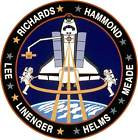 STICKER NASA SPACE SHUTTLE MISSION STS-64
