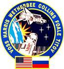 STICKER NASA SPACE SHUTTLE MISSION STS-63