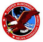 STICKER NASA SPACE SHUTTLE MISSION STS-54