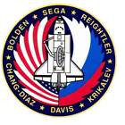 STICKER NASA SPACE SHUTTLE MISSION STS-52