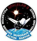 STICKER NASA SPACE SHUTTLE MISSION STS-51F