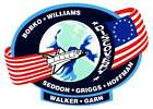 STICKER NASA SPACE SHUTTLE MISSION STS-51D