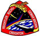 STICKER NASA SPACE SHUTTLE MISSION STS-48