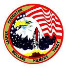 STICKER NASA SPACE SHUTTLE MISSION STS-36
