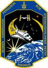 STICKER NASA SPACE SHUTTLE MISSION STS-126