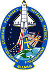 STICKER NASA SPACE SHUTTLE MISSION STS-116