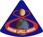 STICKER NASA APOLLO MISSION 8