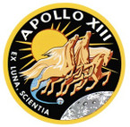 STICKER NASA APOLLO MISSION 13
