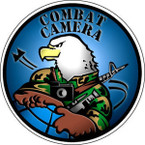 STICKER MILITARY VET COMBAT CAMERA