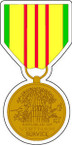 STICKER MILITARY MEDAL Vietnam Service