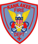 STICKER KANKAKEE FIRE DEPARTMENT