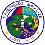 Sticker ISS Soyuz TM-19