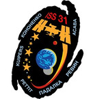 STICKER ISS Expedition  31