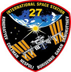 STICKER ISS Expedition  27