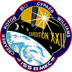 STICKER ISS Expedition  22